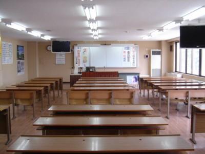 きれいな学科教室。