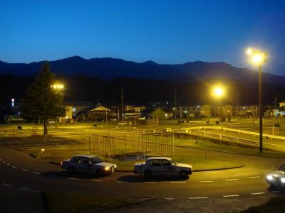 夜の教習風景