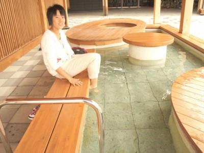 和倉温泉総湯の足湯も気持ちいい♪