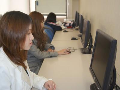 PC完備の自習室