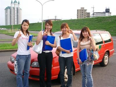 普通免許以外にもさまざまな免許が取得できる足利自動車教習所。普段近くで見る機会のない車種にお目にかかれるかも?