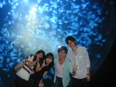 教習の合間に加茂水族館に行こう!